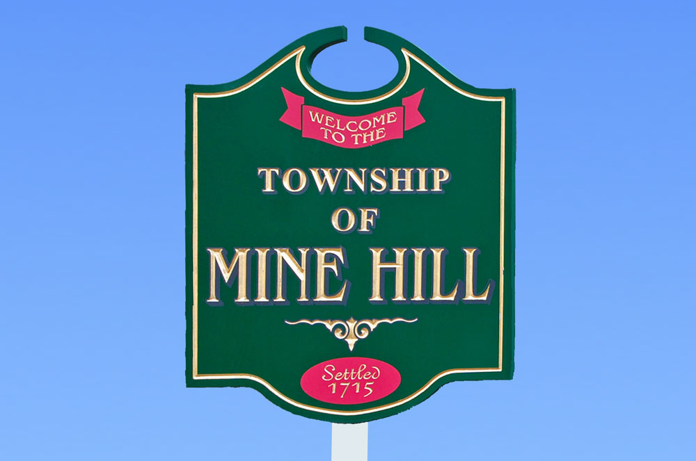 Welcome Sign | Mine Hill