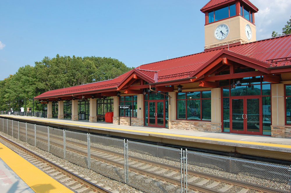Mount Arlington Train Station